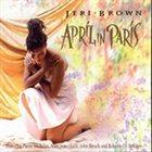 JERI BROWN April in Paris album cover