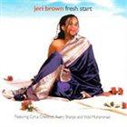 JERI BROWN Fresh Start album cover