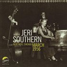 JERI SOUTHERN Blue Note, Chicago March 1956 album cover