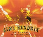 JIMI HENDRIX LA Forum 26th April 1969 album cover