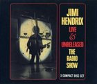 JIMI HENDRIX Live & Unreleased: The Radio Show album cover