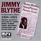 JIMMY BLYTHE Chronological Order Piano Solos (1924-1931) album cover