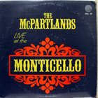 JIMMY MCPARTLAND Jimmy  & Marion McPartland : Live At The Monticello album cover