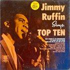 JIMMY RUFFIN Sings Top Ten album cover