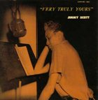 JIMMY SCOTT Very Truly Yours album cover
