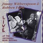 JIMMY WITHERSPOON Live at the Notodden Blues Festival: 1991 album cover