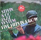 JIŘÍ STIVÍN Five Hits In A Row album cover