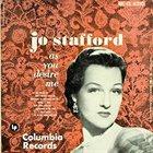 JO STAFFORD As You Desire Me album cover