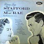 JO STAFFORD Memory Songs album cover