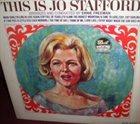 JO STAFFORD This Is Jo Stafford album cover
