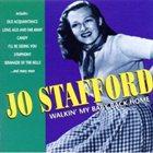 JO STAFFORD Walkin' My Baby Back Home album cover