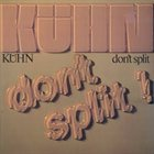 JOACHIM KÜHN Don't Split album cover
