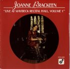 JOANNE BRACKEEN Live at Maybeck Recital Hall, Volume 1 album cover