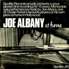 JOE ALBANY At Home (aka At Home Alone) album cover