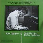 JOE ALBANY Two's Company album cover
