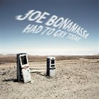 JOE BONAMASSA Had To Cry Today album cover