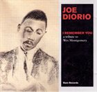 JOE DIORIO I Remember You: A Tribute to Wes Montgomery album cover