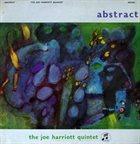 JOE HARRIOTT Abstract album cover