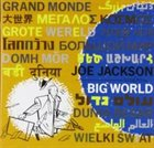 JOE JACKSON Big World album cover