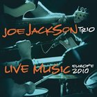 JOE JACKSON Live Music - Europe 2010 album cover