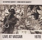 JOE MCPHEE Live at Vassar 1970 album cover