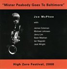 JOE MCPHEE Mister Peabody Goes To Baltimore album cover