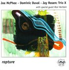 JOE MCPHEE Rapture (live at the Knitting Factory) (as Trio X) album cover