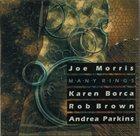 JOE MORRIS Many Rings album cover