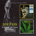 JOE PASS A Sign Of The Times/Simplicity album cover