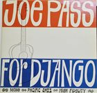 JOE PASS For Django album cover