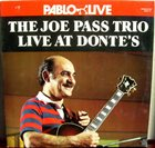 JOE PASS Live at Donte's album cover