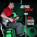 JOE PASS Live At The Encore Theatre album cover