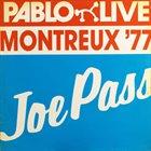 JOE PASS Montreux 77 album cover