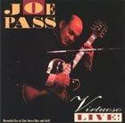JOE PASS Virtuoso Live! album cover