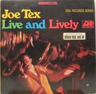 JOE TEX Live And Lively album cover