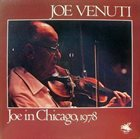 JOE VENUTI Joe in Chicago, 1978 album cover