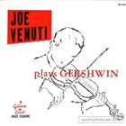 JOE VENUTI Plays Gershwin album cover