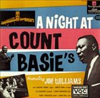 JOE WILLIAMS A Night at Count Basie's album cover