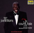 JOE WILLIAMS Live at Detroit Orchestra Hall album cover