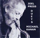 JOEL PRESS Joel Press and Michael Kanan : Duets album cover