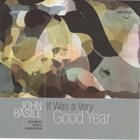 JOHN BASILE It Was A Very Good Year album cover