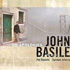 JOHN BASILE No Apologies album cover