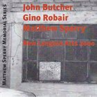 JOHN BUTCHER New Langton Arts 2000 (with Gino Robair, Matthew Sperry) album cover