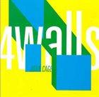 JOHN CAGE Four Walls album cover