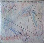 JOHN CAGE Freeman Etudes I-XVI album cover