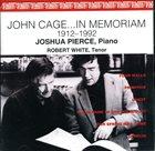 JOHN CAGE In Memoriam album cover