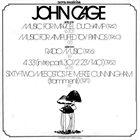 JOHN CAGE John Cage album cover