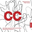 JOHN CAGE John Cage, Christian Wolff, Apartment House, Philip Thomas : CC album cover