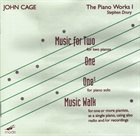 JOHN CAGE John Cage - Stephen Drury : The Piano Works 1 album cover