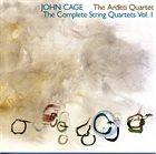 JOHN CAGE John Cage, The Arditti Quartet : The Complete String Quartets, Vol. 1 album cover
